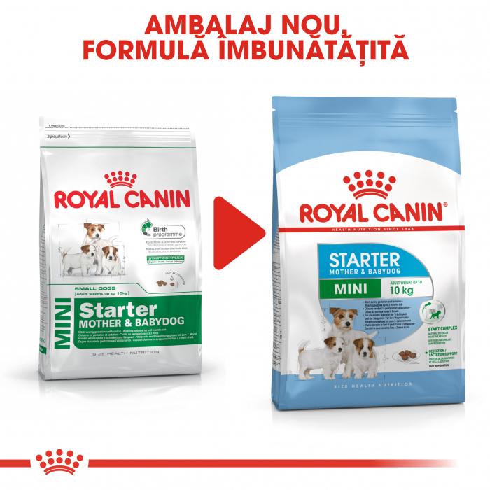 Royal Canin Mini Starter Mother & BabyDog, mama și puiul, hrană uscată câini 3 kg [4]