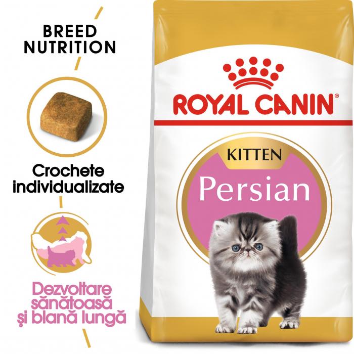 Royal Canin Persian Kitten, hrană uscată pisici junior, 2 kg [0]