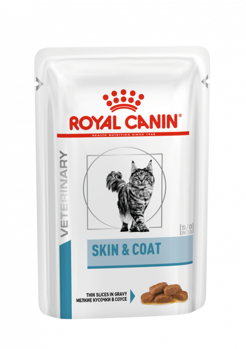 ROYAL CANIN Skin & Coat Cat PLIC 85g [0]