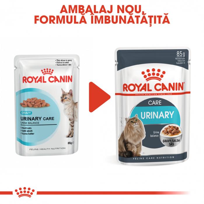 Royal Canin Urinary Care Adult, plic hrană umedă pisici, sănătatea tractului urinar, (în sos),12 x 85 g [1]
