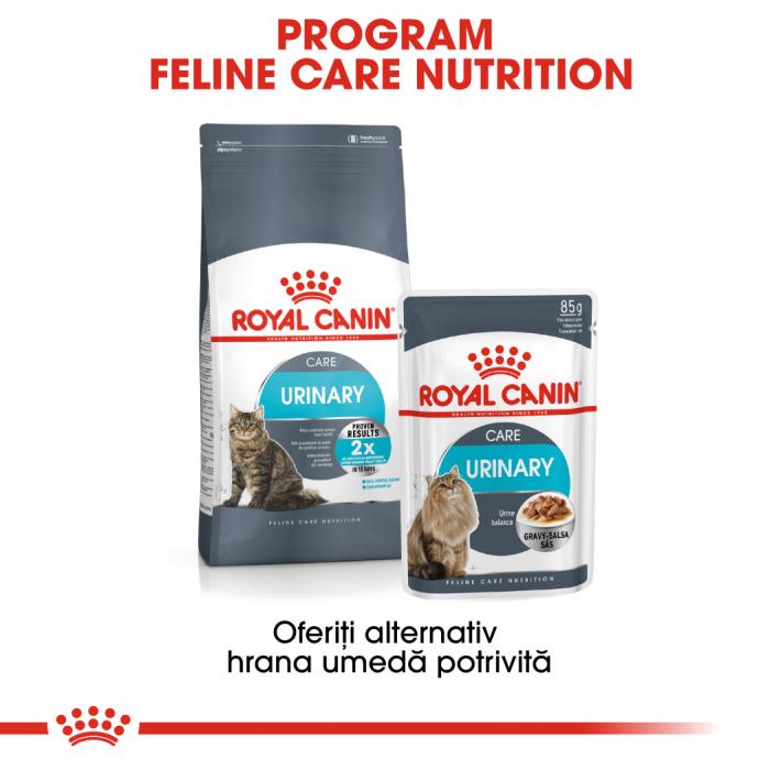 Royal Canin Urinary Care Adult, plic hrană umedă pisici, sănătatea tractului urinar, (în sos),12 x 85 g [4]