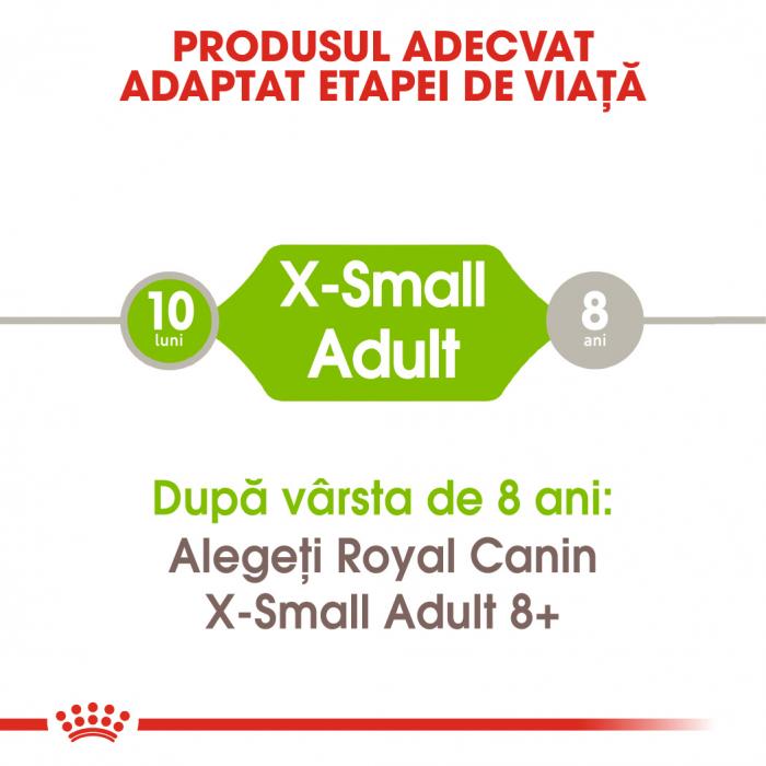 Royal Canin X-Small Adult, hrană uscată câini, 1.5 kg [1]
