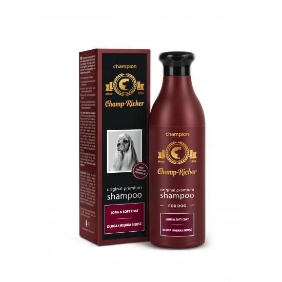 Sampon CHAMP RICHER pentru CAINI cu BLANA LUNGA SI MATASOASA, 250 ml [0]