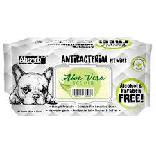 Servetele umede Absorb Plus Antibacterial, ALOE VERA, 80 buc [0]