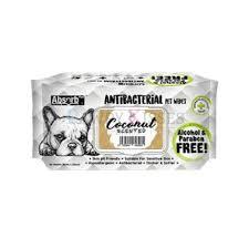 Servetele umede Absorb Plus Antibacterial, COCOS, 80 buc [0]