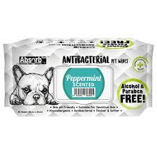 Servetele umede Absorb Plus Antibacterial, PEPPERMINT, 80 buc [0]