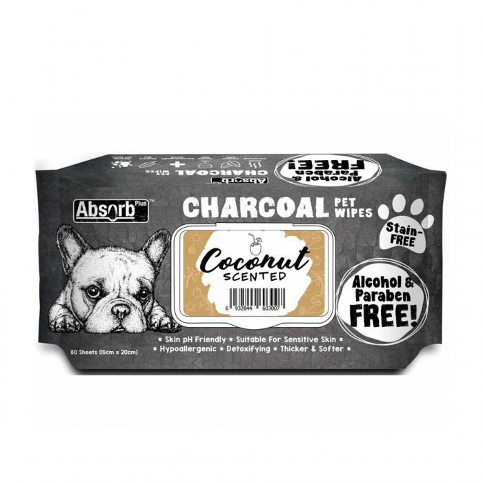 Servetele umede Absorb Plus Cocos, 80 buc [0]