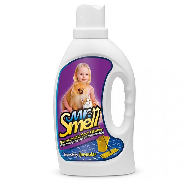 Solutie curatare pete si mirosuri animale de pe podele, Mr. Smell, Lavanda, 1000 ml  [0]