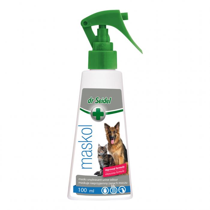 Solutie pentru neutralizarea mirosurilor de animale, Dr. Seidel, Maskol, 100 ml  [0]
