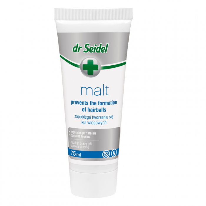 Supliment nutritiv pentru pisici, Dr. Seidel, Pasta Malt, 75 ml  [0]