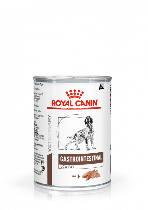 ROYAL CANIN Gastrointestinal Low Fat Dog Can 410g [0]