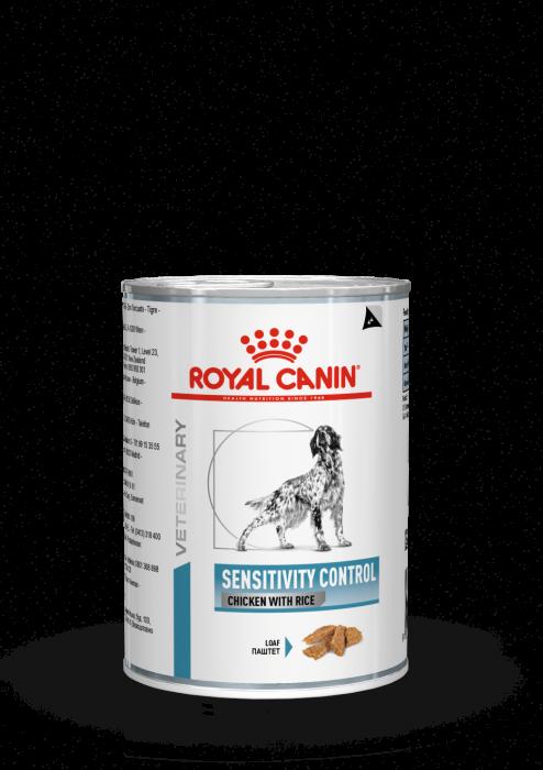 ROYAL CANIN Sensitive Chicken Dog Can 420g [0]