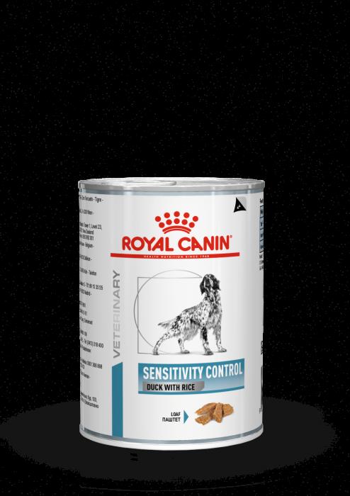 ROYAL CANIN Sensitive Duck Dog Can 420g [0]