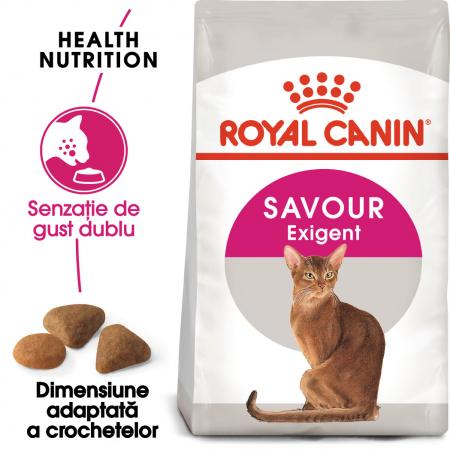 Royal Canin Exigent Savour Adult, hrană uscată pisici, apetit capricios 400 g [0]