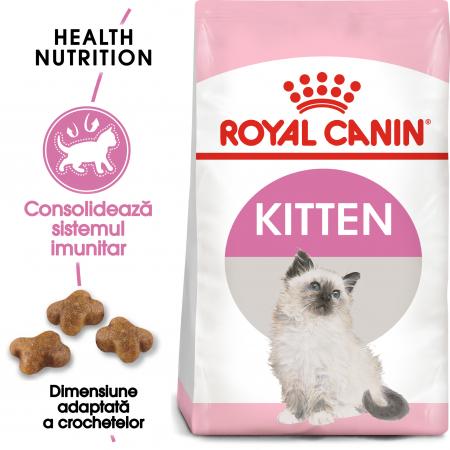 Royal Canin Kitten, hrană uscată pisici junior, 10 kg [0]