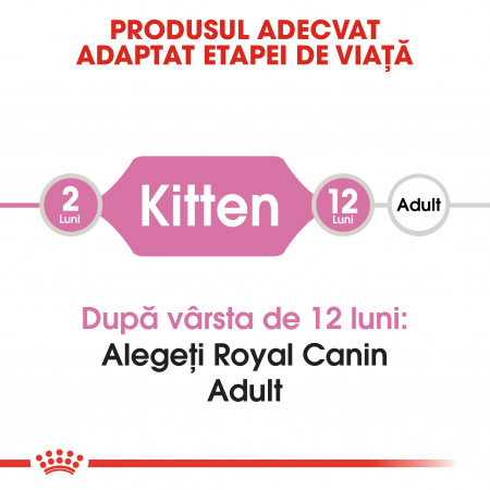 Royal Canin Kitten, hrană uscată pisici junior, 4 kg [1]