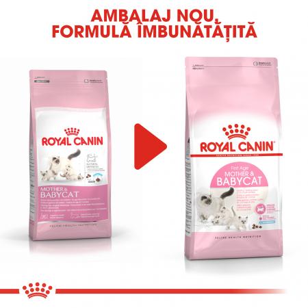 Royal Canin Mother & BabyCat, hrană uscată pisici, mama și puiul 4 kg [4]