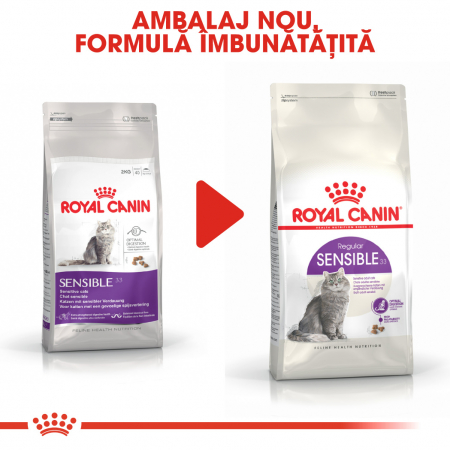 Royal Canin Sensible Adult, hrană uscată pisici, digestie optimă,  4 kg [4]