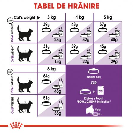 Royal Canin Sensible Adult, hrană uscată pisici, digestie optimă,  400 g [4]