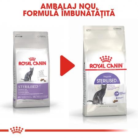 ROYAL CANIN STERILISED,hrană uscată pisici sterilizate, 10 kg [6]