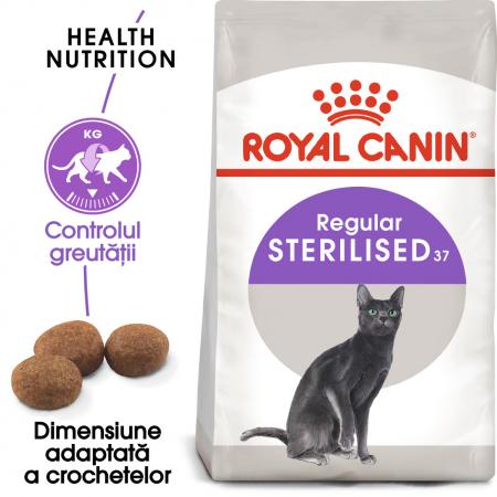 ROYAL CANIN STERILISED,hrană uscată pisici sterilizate, 4 kg [0]