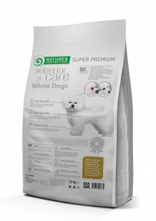 Nature`s Protection Superior Care White Dogs Grain Free Small & Mini Adult cu Miel 10 Kg [1]