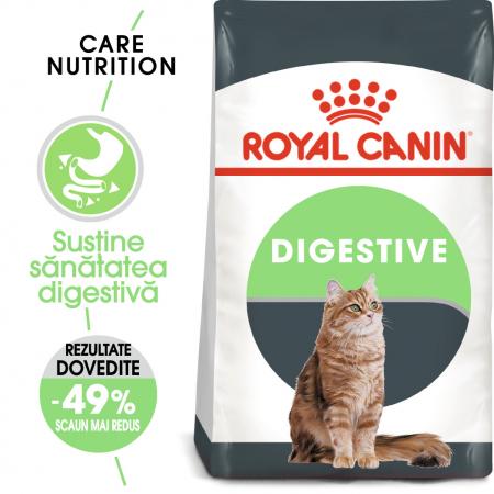 Royal Canin Digestive Care Adult, hrană uscată pisici, confort digestiv, 2 kg [0]