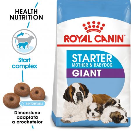 Royal Canin Giant Starter Mother & BabyDog, mama și puiul, hrană uscată câini,15 kg [0]