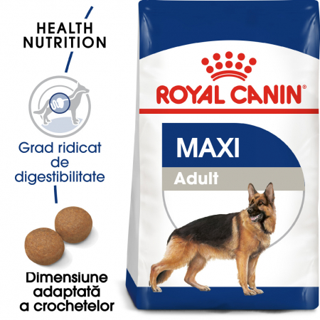 Royal Canin Maxi Adult, hrană uscată câini, 4 kg [0]
