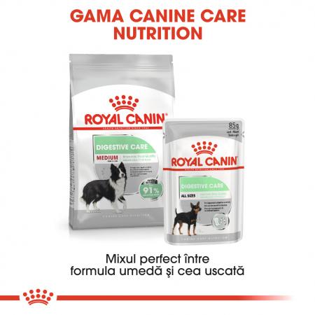 Royal Canin Medium Digestive Care, hrană uscată câini, confort digestiv, 3KG [5]