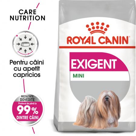 Royal Canin Mini Exigent, hrană uscată câini, apetit capricios, 3KG [0]