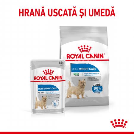 Royal Canin Mini Light Weight Care Adult, hrană uscată câini, managementul greutății, 1Kg [4]