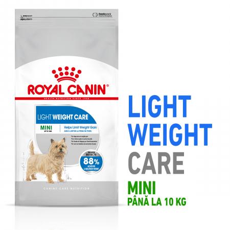 Royal Canin Mini Light Weight Care Adult, hrană uscată câini, managementul greutății, 1Kg [0]