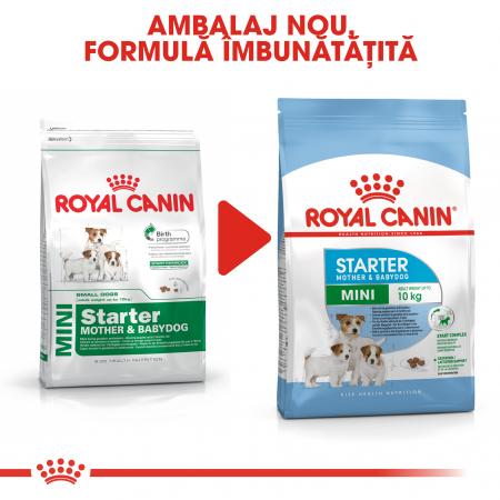Royal Canin Mini Starter Mother & BabyDog, mama și puiul, hrană uscată câini 8.5 kg [4]