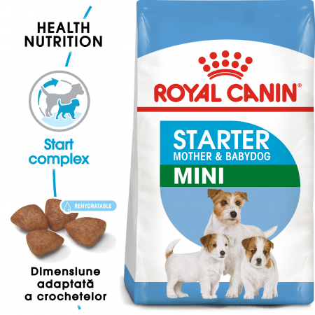 Royal Canin Mini Starter Mother & BabyDog, mama și puiul, hrană uscată câini 8.5 kg [0]