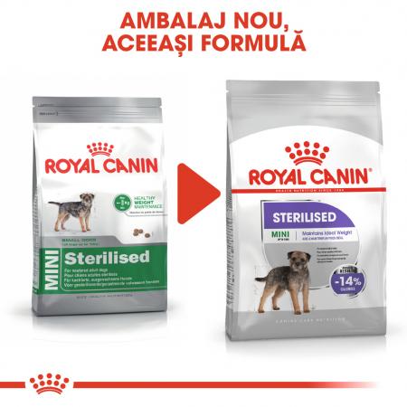 Royal Canin Mini Sterilised Adult, hrană uscată câini sterilizați, 8KG [1]