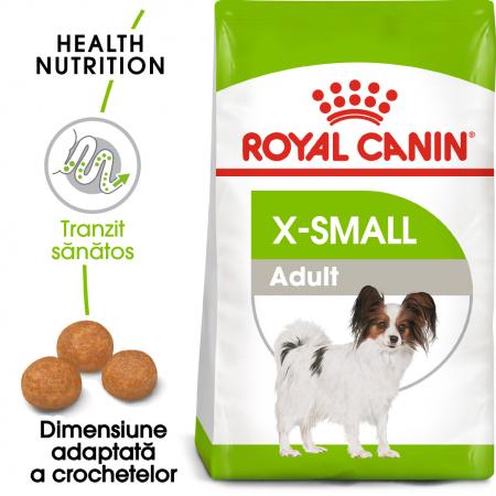 Royal Canin X-Small Adult, hrană uscată câini, 500 g [0]