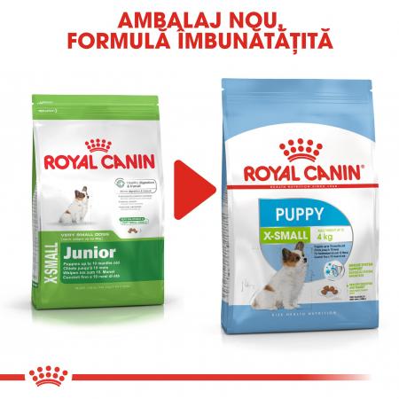 Royal Canin X-Small Puppy, hrană uscată câini junior, 1.5 kg [4]