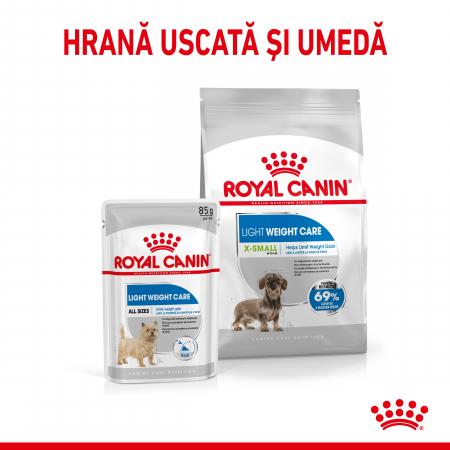 ROYAL CANIN X-Small Light Weight Care Adult, hrană uscată câini, managementul greutății, 500G [4]