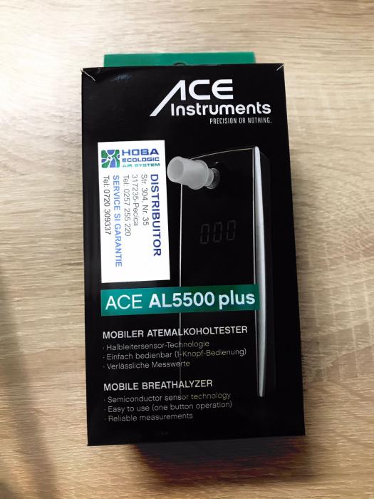 Alcooltester digital ACE AL 5500 PLUS - model sensor 2017 [0]