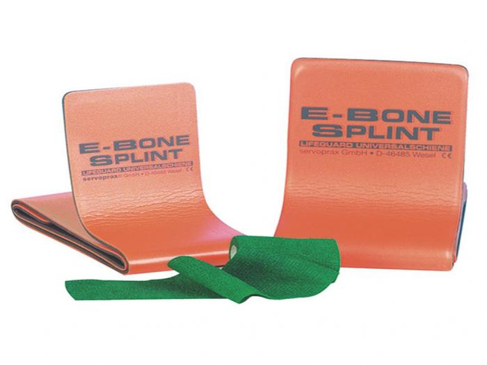 Atela LIFEGUARD E-Bone pentru imobilizare membre - refolosibila, impermeabila, radio-transparenta - rola 50x11 cm [0]