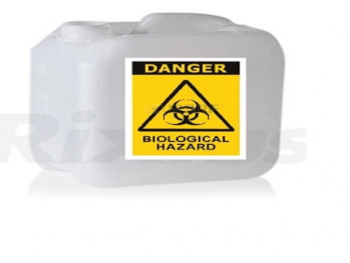 Bidon din HDPE pentru deseuri periculoase lichide - 5L [0]