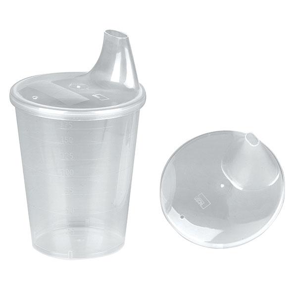 Capac antiscurgere cu gura larga - din plastic transparent [0]