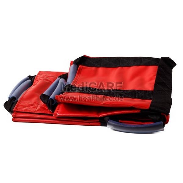 Cearceaf de evacuare PRO PLANE RED - 70x200 cm - certificat DEKRA - pana in 150Kg [0]