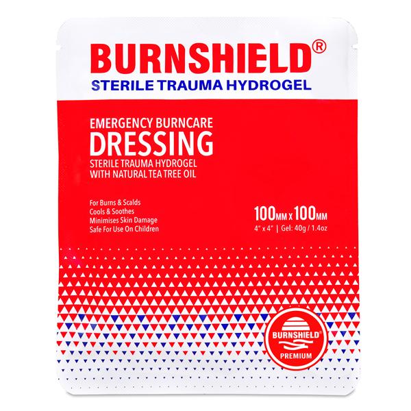Compresa sterila arsuri BURNSHIELD - 10x10 cm [0]