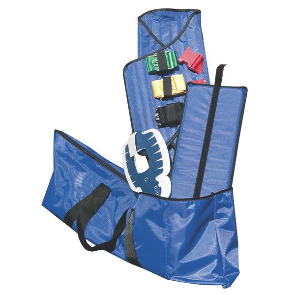 Corset KED extractie 83x80x1 cm - culoare albastru, inclusiv geanta [1]