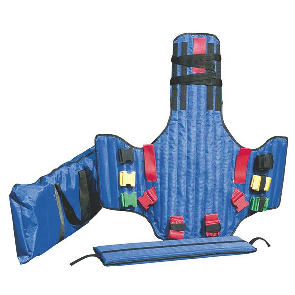 Corset KED extractie 83x80x1 cm - culoare albastru, inclusiv geanta [0]