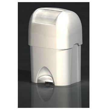 Cos de gunoi pentru deseuri periculoase Nappyminder alb [0]