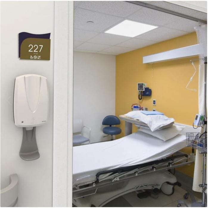 Dispenser SANITEX MVP automat - touch free - negru/crom [1]