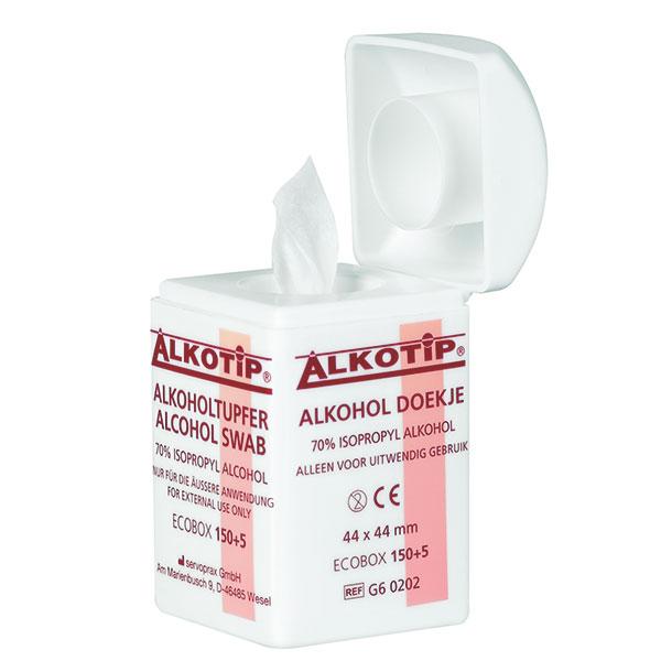 Dispenser servetele cu alcool ALKOTIP - 150 servetele [2]